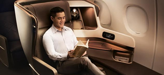 Singapore Airlines Business class & First class reservations call 08009997474